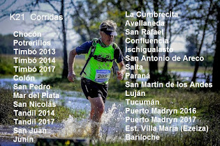 k21 Serie Salomon-Optitech corridas 2013/2014/2015/2016/2017
