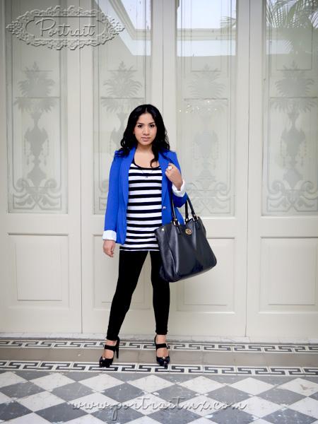 Portrait: Portraits: Blue blazer