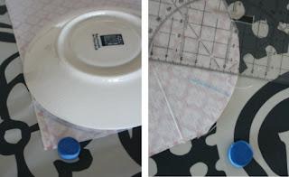 Capa para bolsa de água quente passo a passo