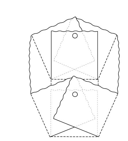 Moldes para hacer canastas de pascua ~ Portal de Manualidades