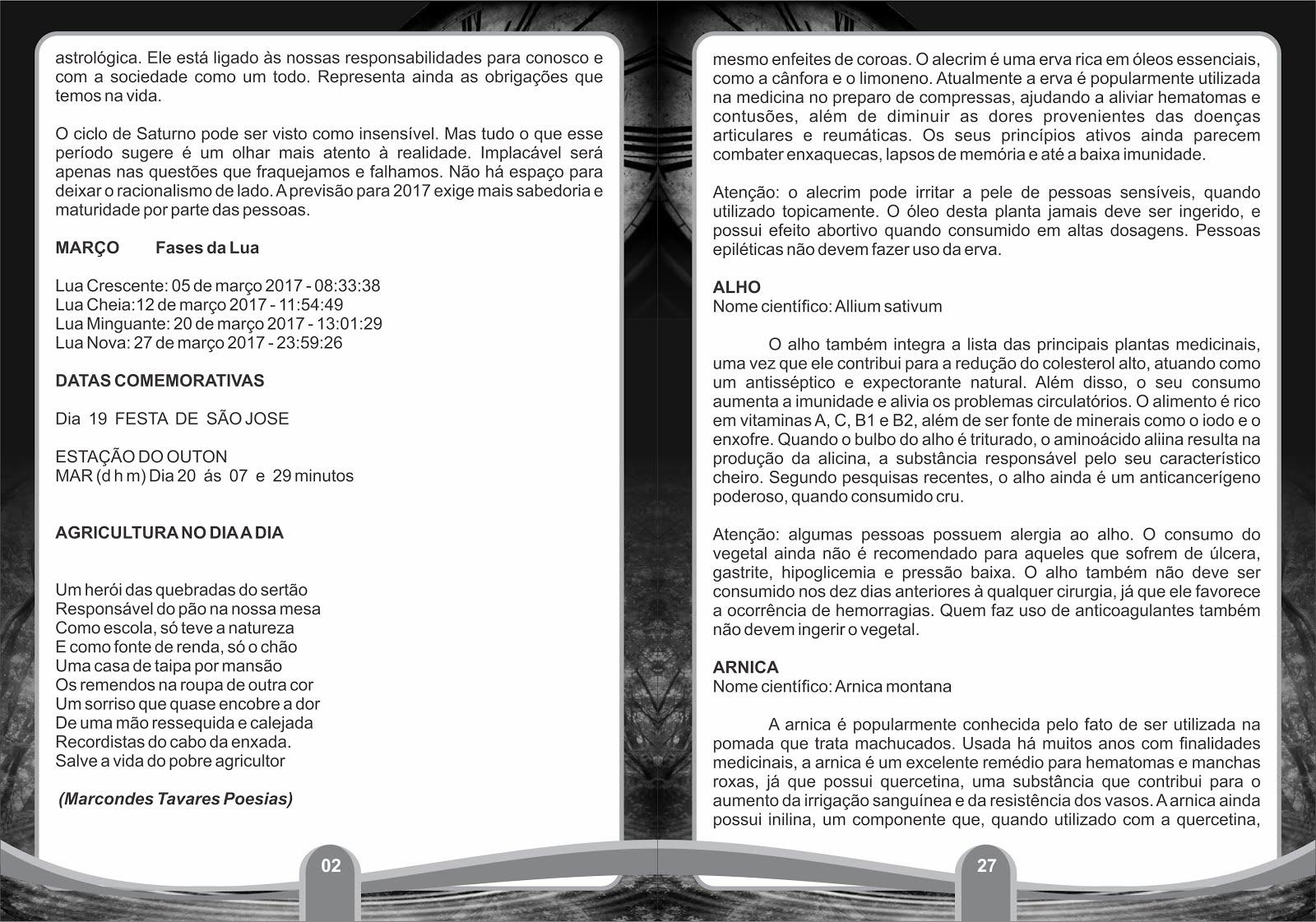 02 EXPOSITOR DE ALGUMAS PÁGINAS DOS  NOSSOS TRIGÉSIMO SEGUNDO ANO DE PUBLICAÇÕES