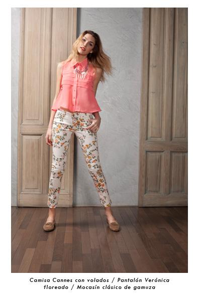 pantalon chupin estampado Estancias Chiripa verano 2013