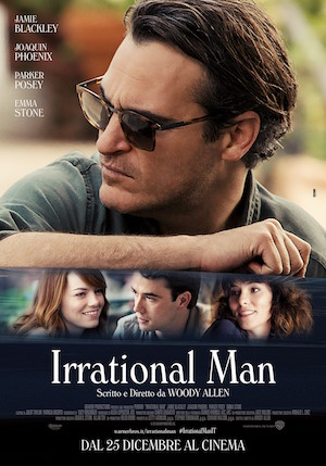 Poster Irrational Man 2015