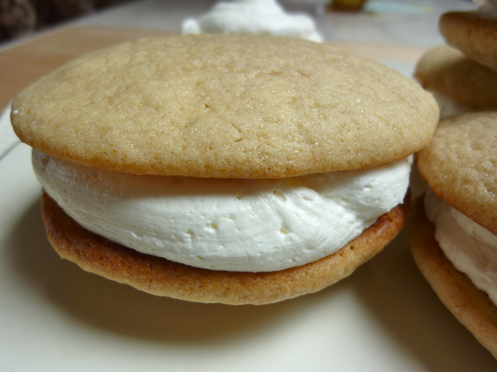 ... Mad Hausfrau: Kombucha Whoopie Pies with Kombucha Marshmallow Filling