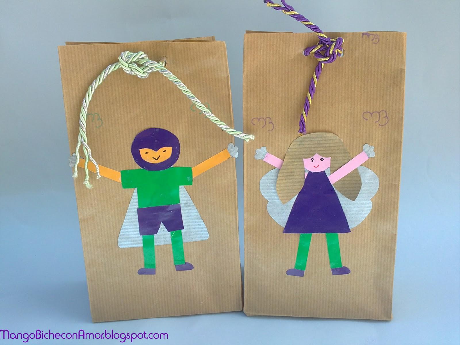 Bolsa de papel craft personalizada para tus regalos - Bolsa de papel para regalo ...
