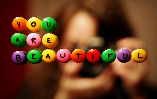 you are very pretty