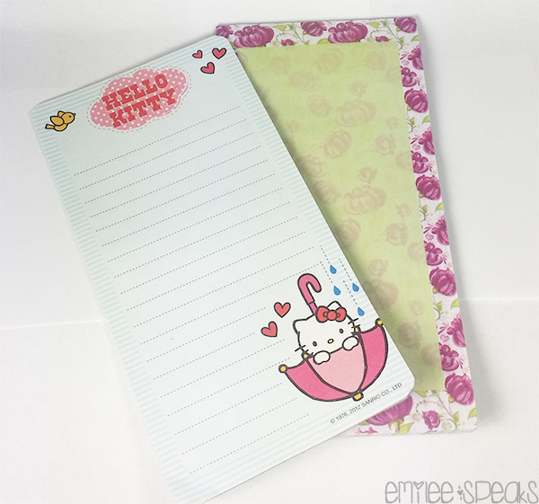 note pads planner