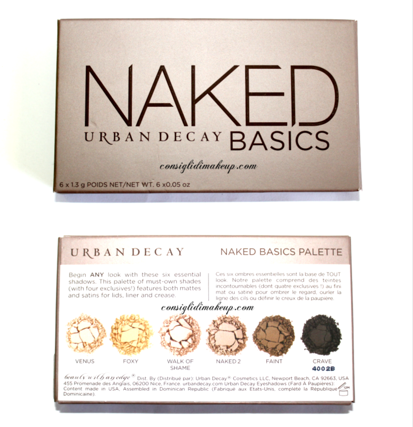 Review: Naked Basics - Urban Decay