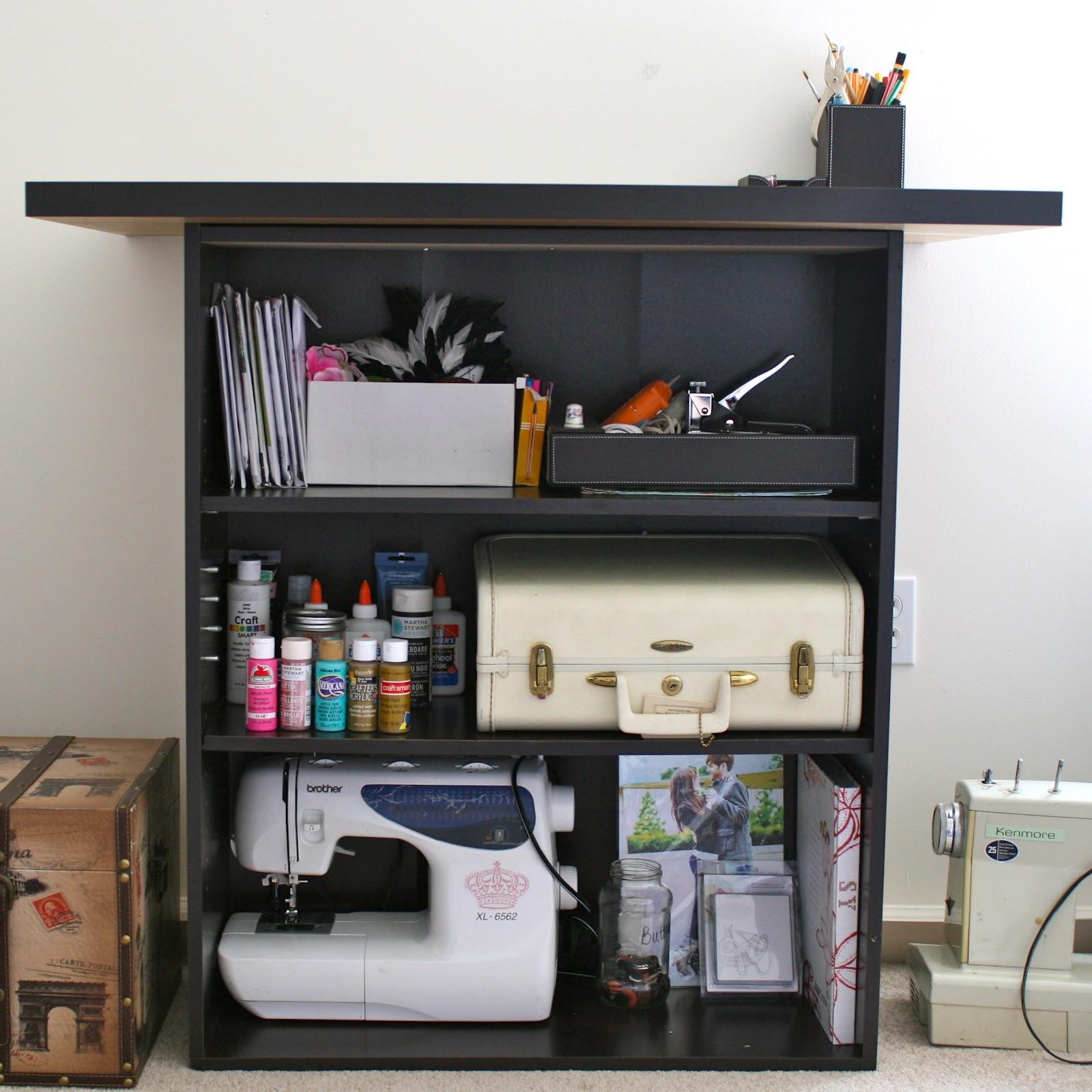 Diy Bookcase Kitchen Island: La Vie DIY: DIY Craft Table Or Kitchen Island
