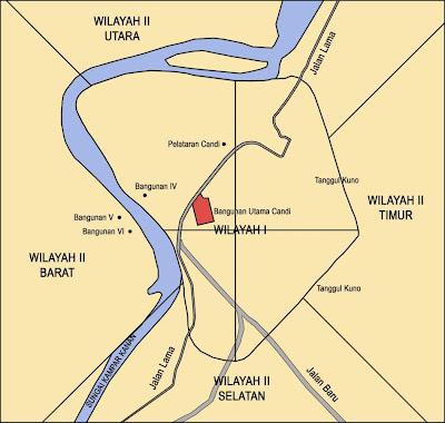 Peta Lokasi Situs Candi Muara Takus