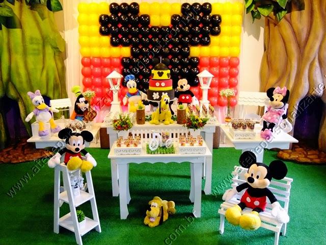 Decoração de festa infantil Mickey Porto Alegre