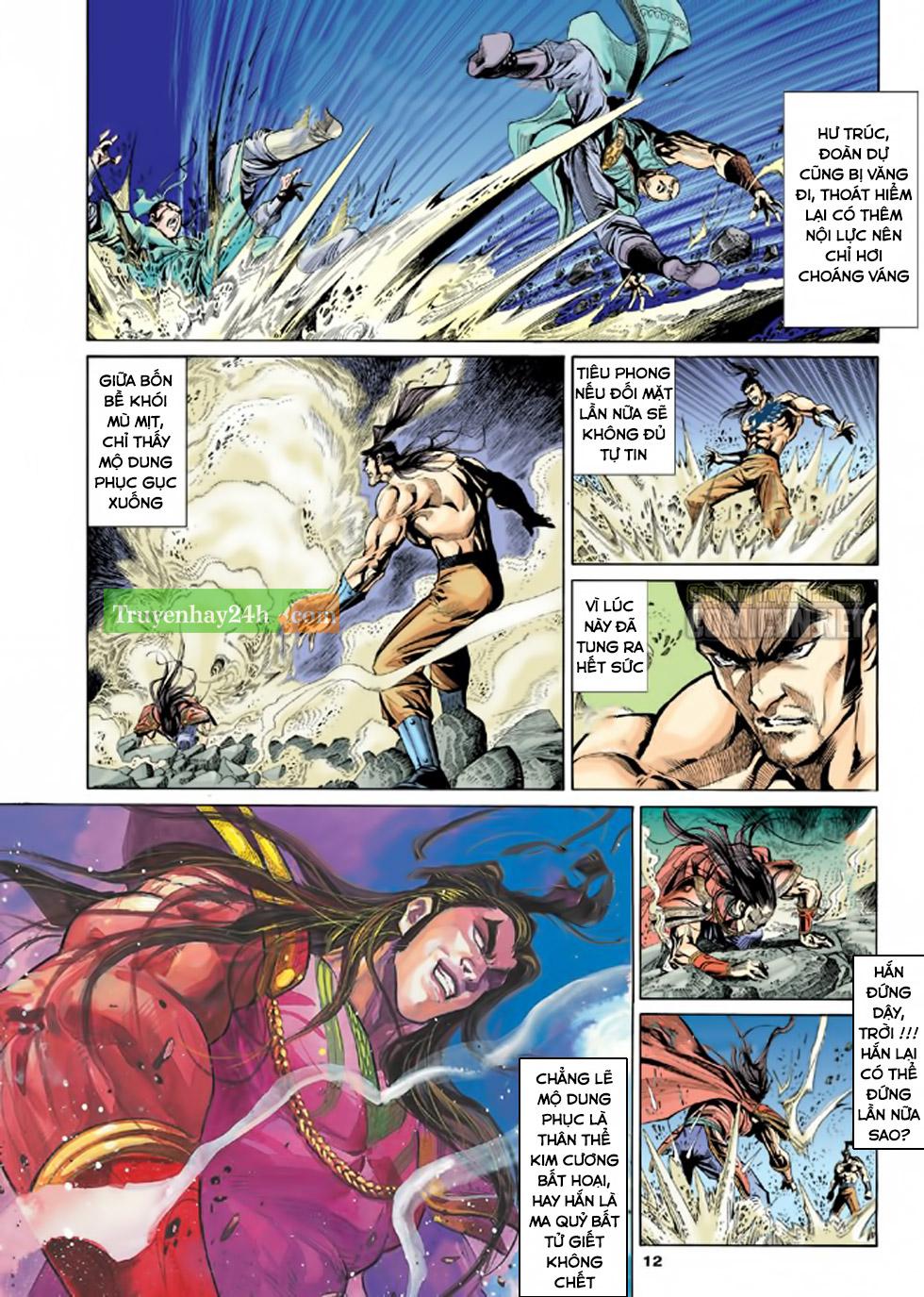 Thiên Long Bát Bộ chap 100 – End Trang 13 - Mangak.info