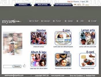 MYARTIS.COM TAHUN 2001-2002