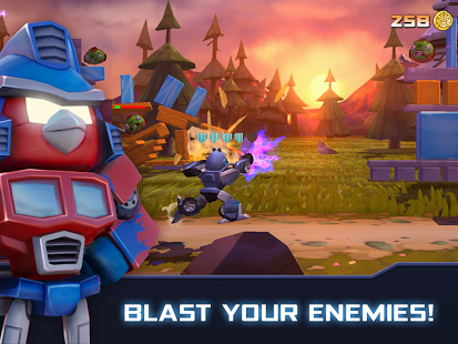 Angry Birds Transformers v1.3.21 Apk Mod Data