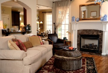 Family Room Decorating: 2011-
