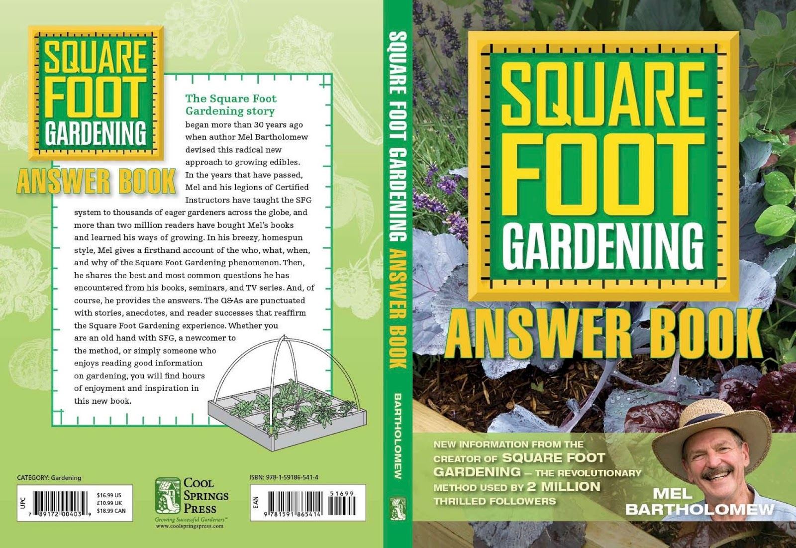 Square foot gardening book -  Reprint This Helpful And Popular Book That Answers So Many Common Questions People Have About Sfg If You Don T Have A Copy Be Sure To Get One Today