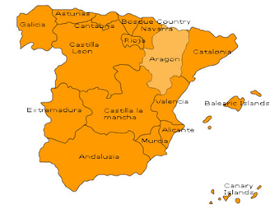 Aragon Map Picture