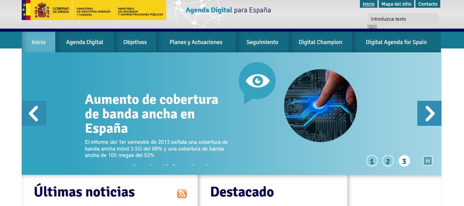 http://www.agendadigital.gob.es/Paginas/Index.aspx