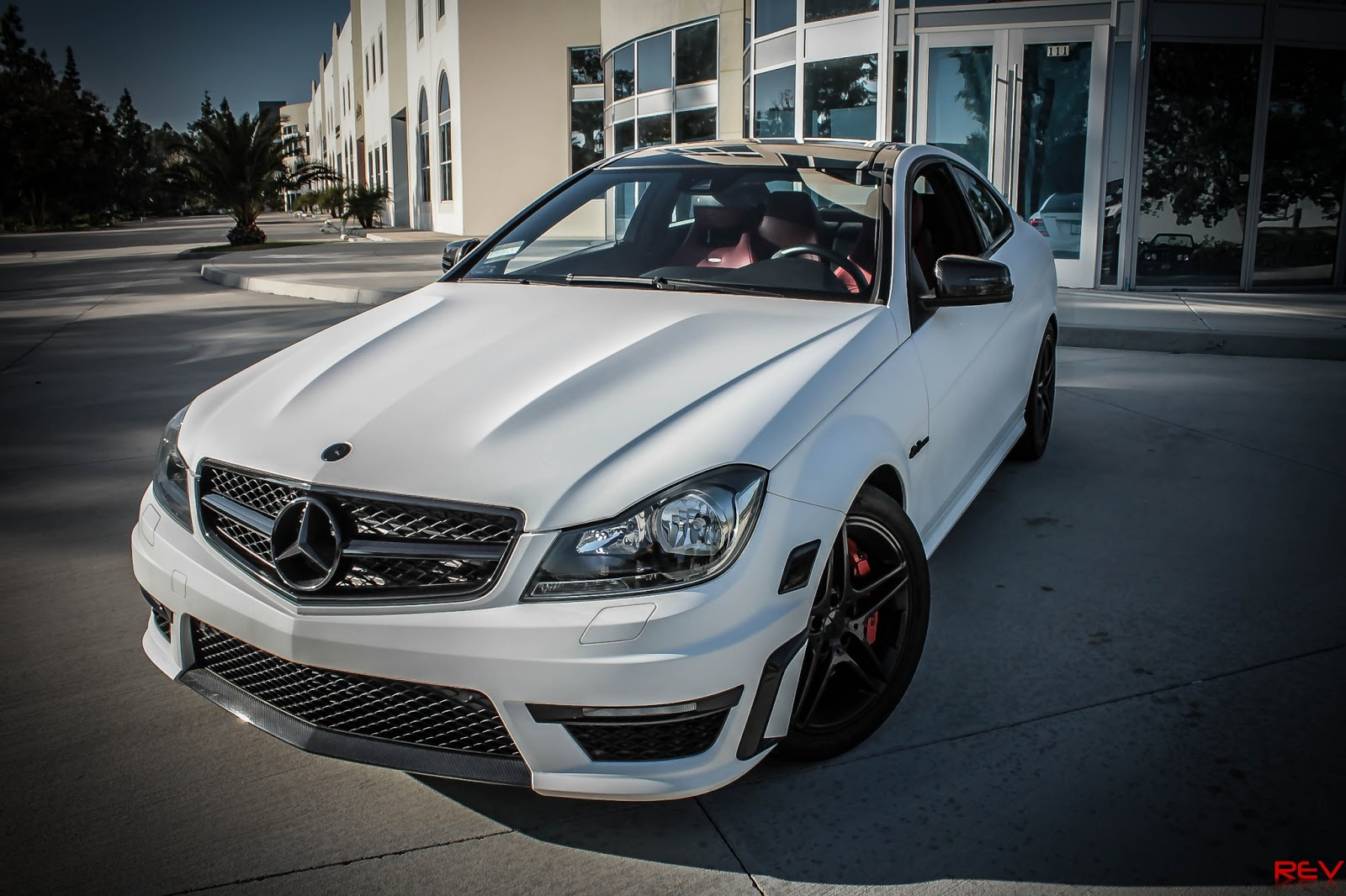 European Vision Autoworks White Series MercedesBenz C63 Coupe