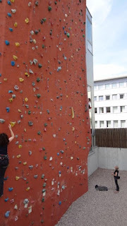 Climbing Wall - Magic Mountain Gym in Berlin