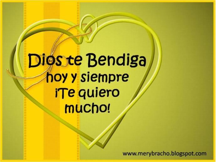 Dios te bendiga hoy te quiero jpgTe Quiero Mucho Amiga Dios Te Bendiga