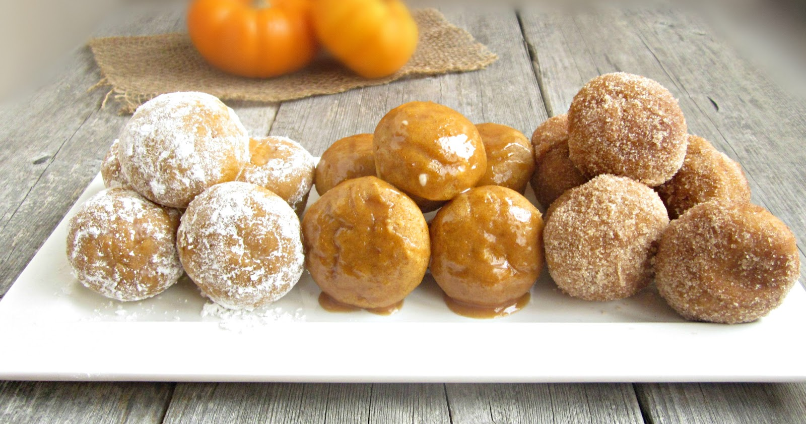 Hungry Couple: Baked Pumpkin Doughnut Holes