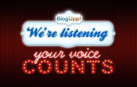 BlogUpp blogger contest