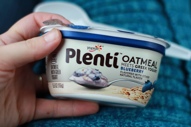 Plenti Oatmeal Meets Greek Yogurt