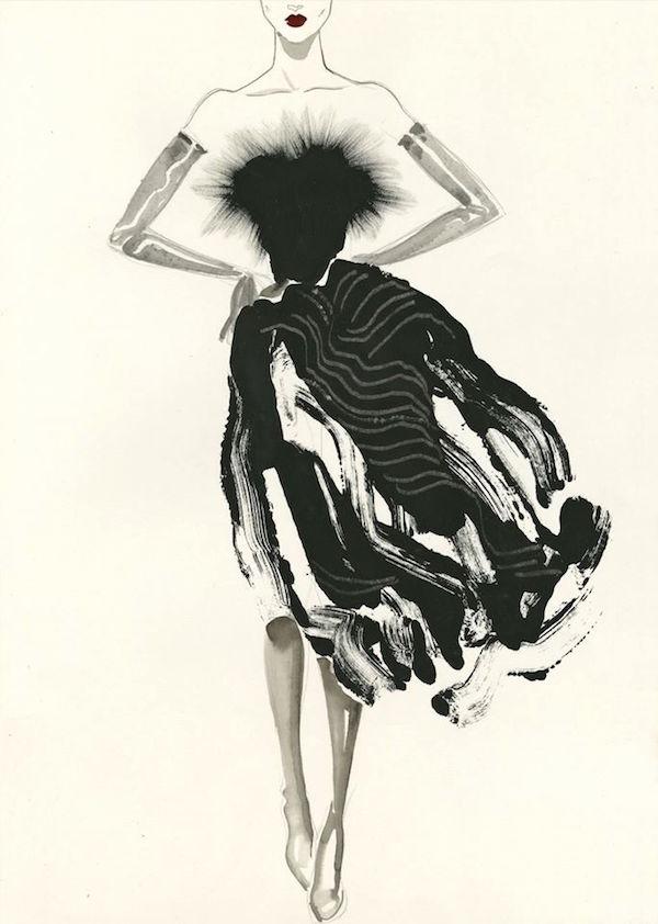 Fashionweek, SS16, Margot Mace, Margot van Huijkelom Mace, illustration, fashion, catwalk, iloveillustration, blog, artists, curated, contemporary, art, drawing, iloveillustration, anneke krull,