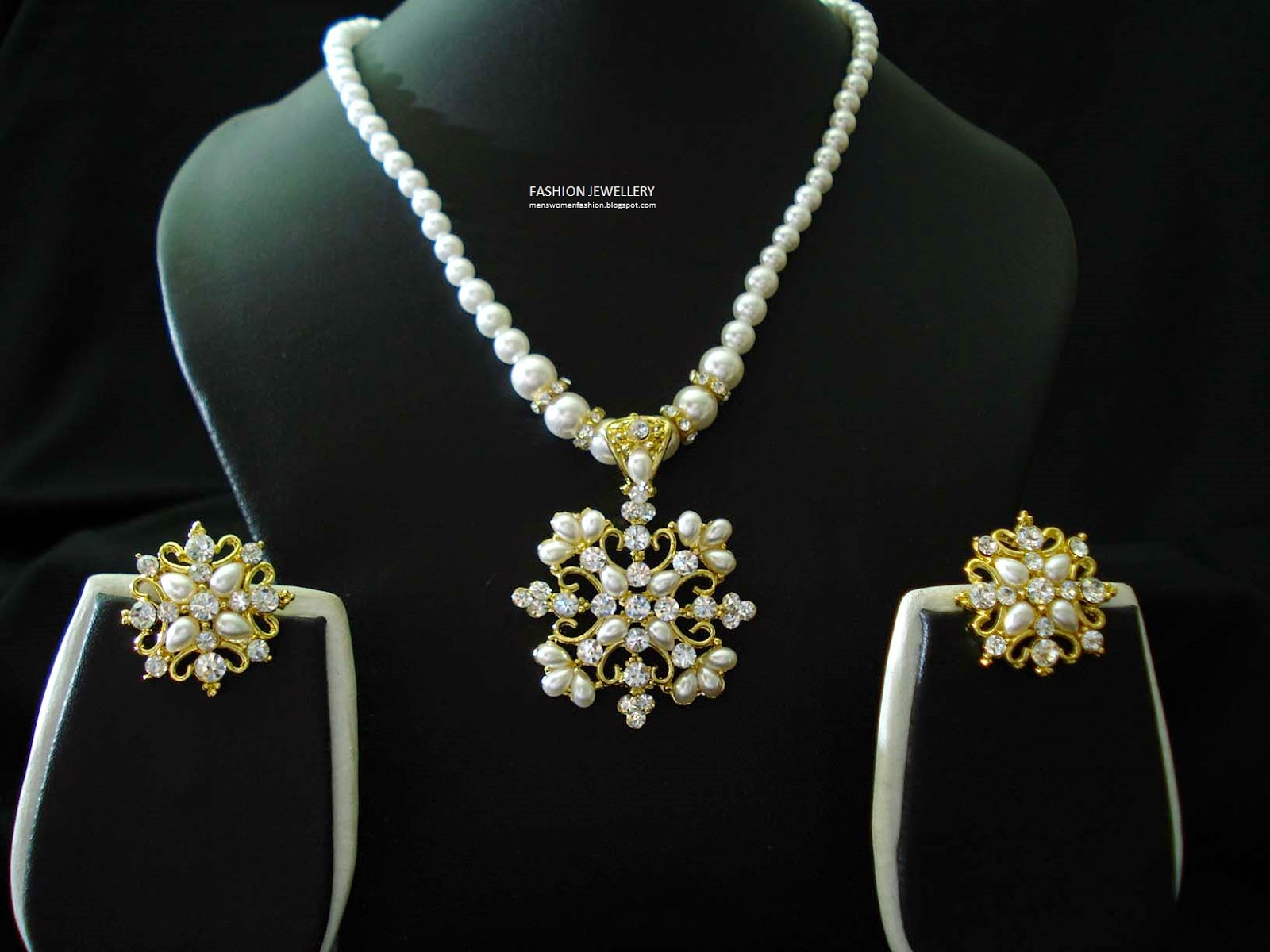 Sri Lanka Pearl Gold Diamond 2015 Fashion Jewellery 148 ~ Fashion ...