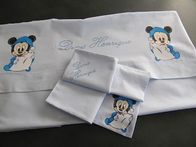 lençois de bebe pintados