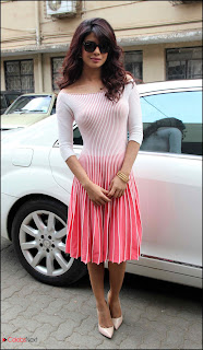 Actress Priyanka Chopra Pictures in Stylish Dress at UNICEFs Mobile App Launch  0005.jpg