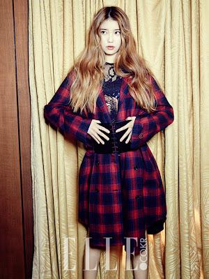IU - Elle Magazine November Issue 2013