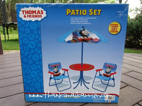Thomas & Friends Patio Set