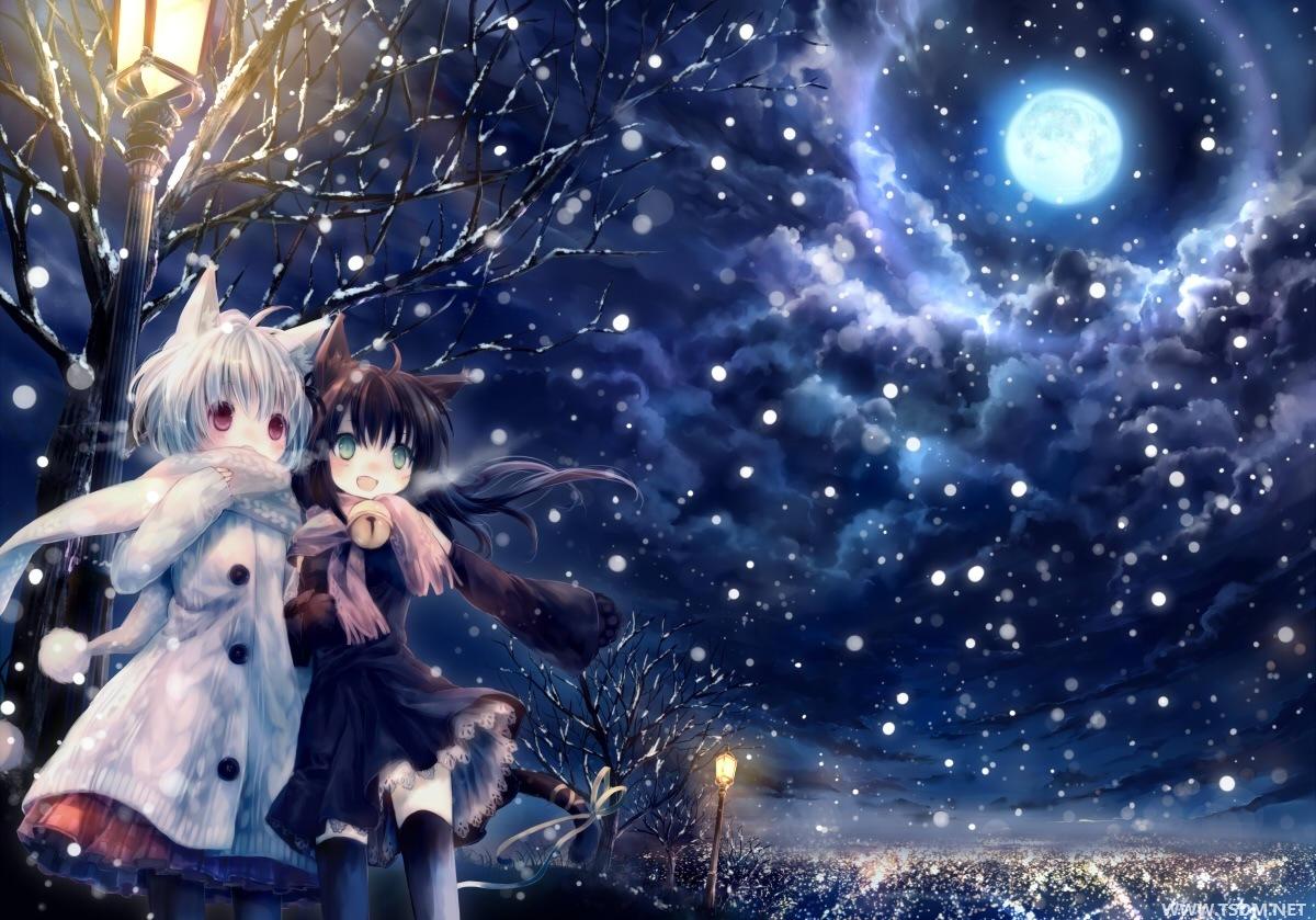Barrichan: Christmas Holiday Anime Backgrounds [3 of 4]