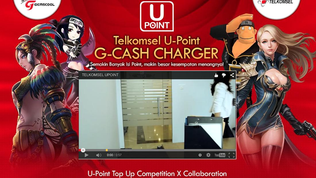 Ikuti Kompetisi TelkomSEL U-Point G-Cash Charger dan Menangkan Hadiahnya