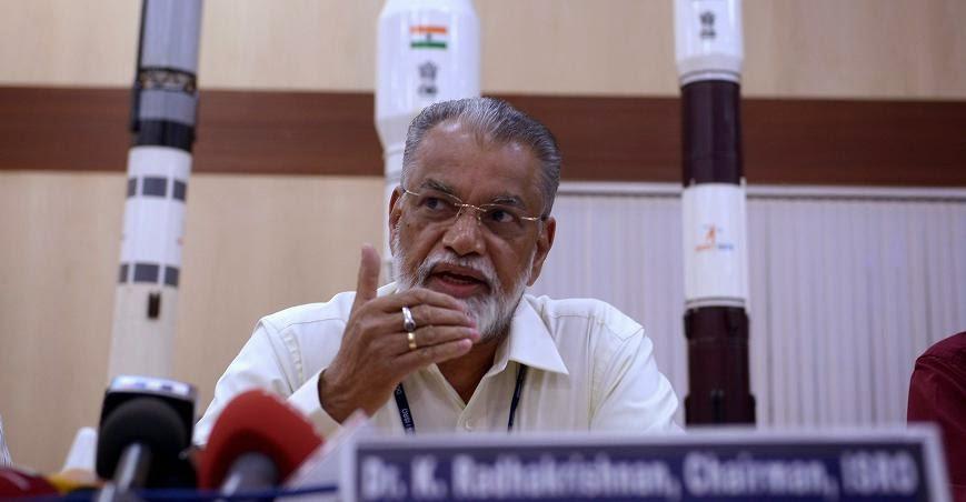 ISRO Chairman Dr. Koppillil Radhakrishnan. Credit: newindianexpress.com