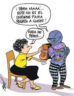 """El Cartón: """"Mamá previsora"""""""