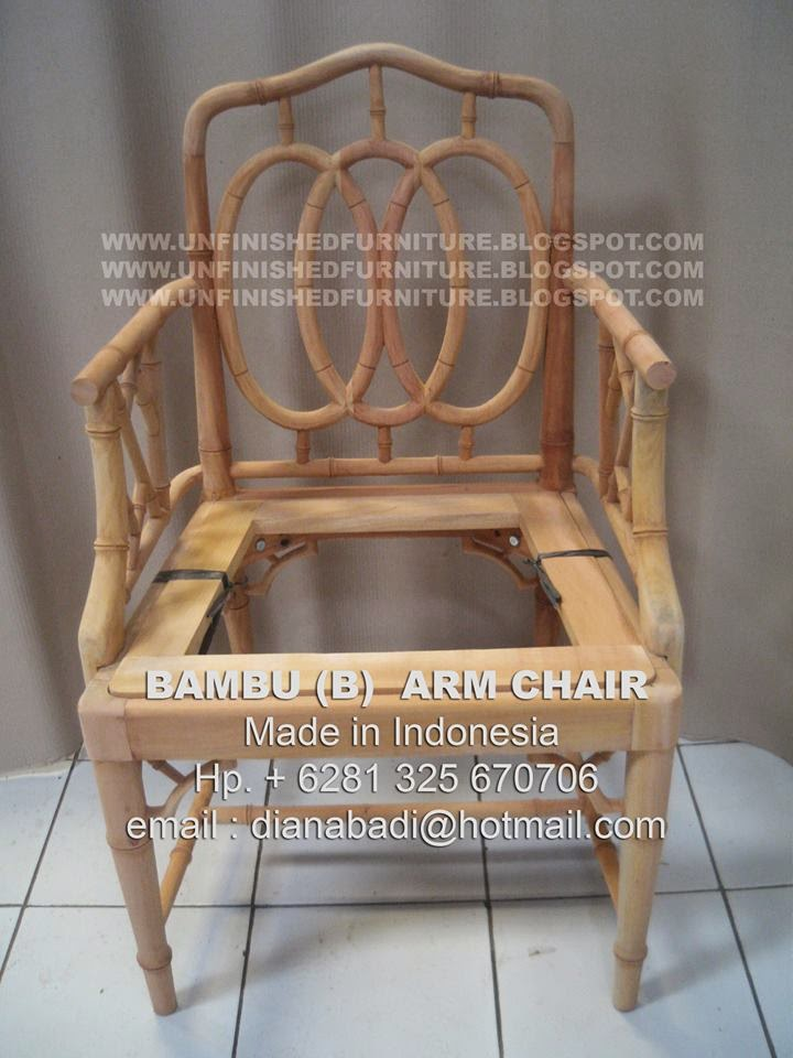 indonesia arm chair mahogany supplier unfinished furniture supplier  unfinished chair supplier unfinished dining chair