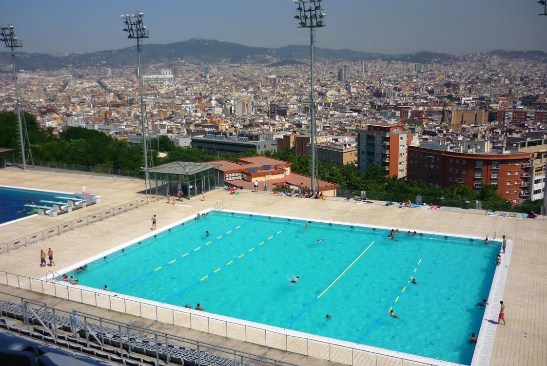 Veo veo 3 montju c 218 for Piscinas municipales barcelona
