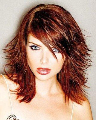 choppy layered hairstyle. Layered Hairstyles for Girls