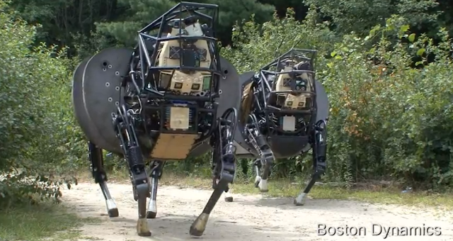 Alpha Dog Robot