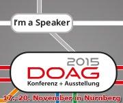 DOAG 2015 Speaker