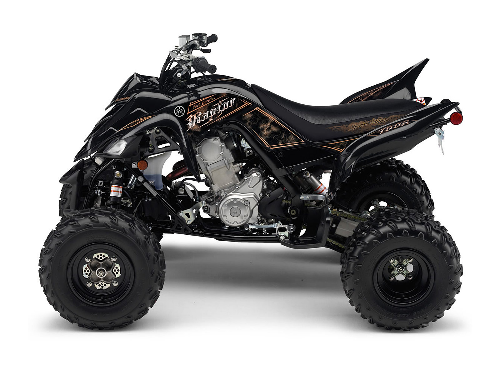 2012 yamaha raptor 700r se atv pictures specifications