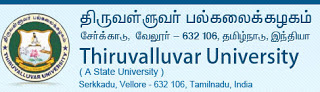 Thiruvalluvar University Results 2013 UG PG of April May thiruvalluvaruniversity.ac.in