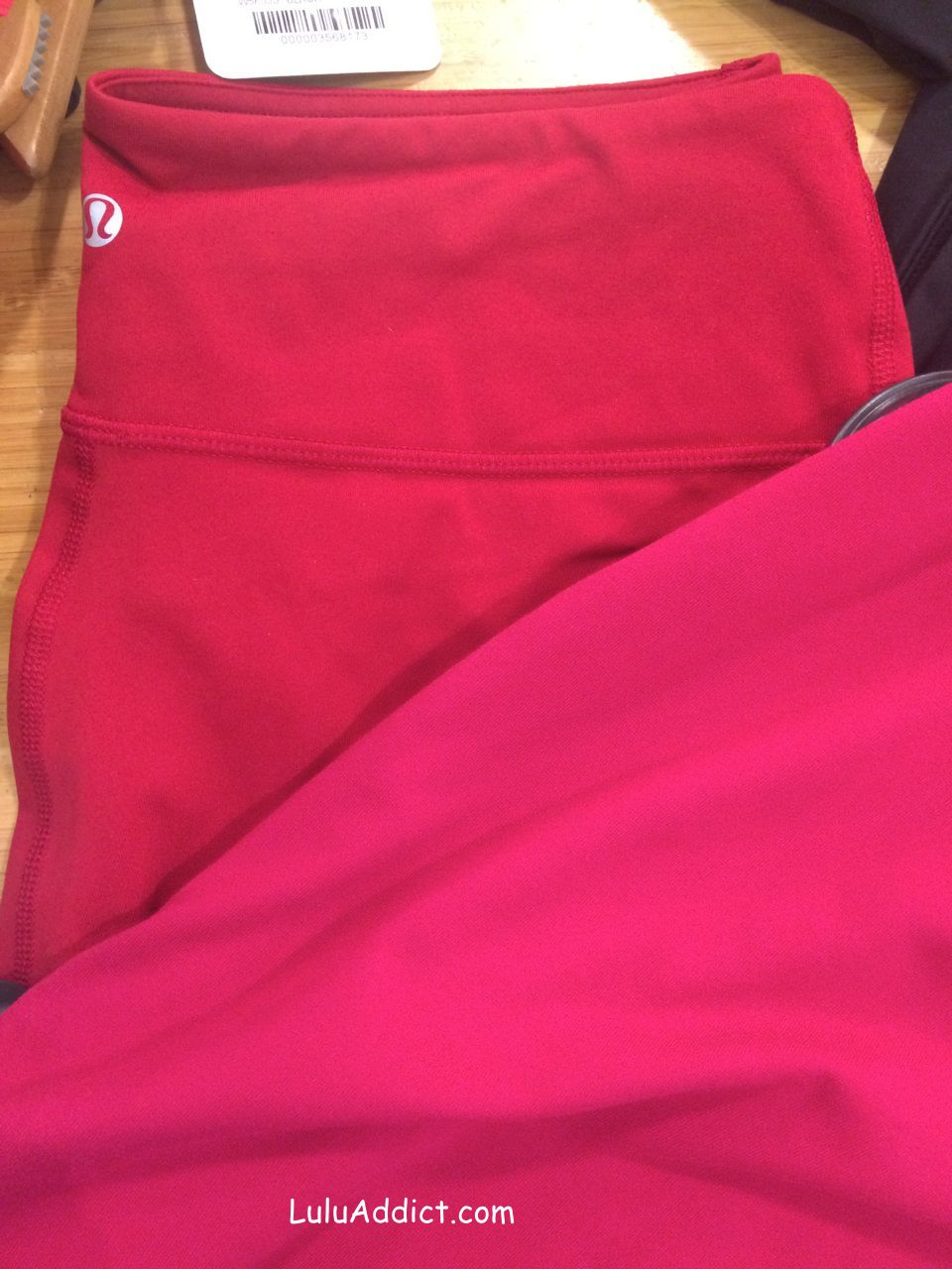 lululemon deepest cranberry wunder under pant