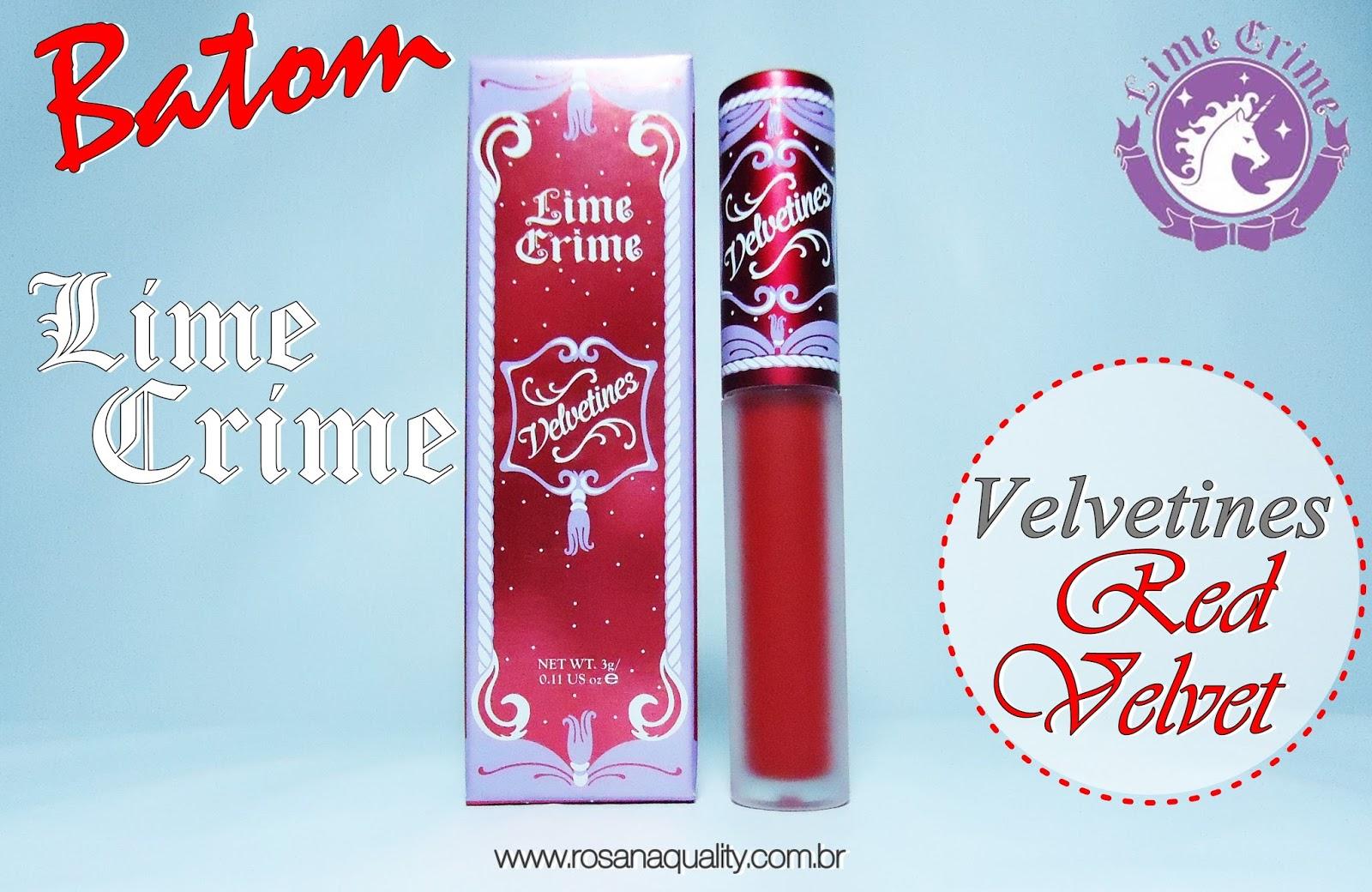Red Velvet Limecrime