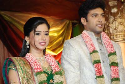 Jayam Ravi And Aarthis Wedding