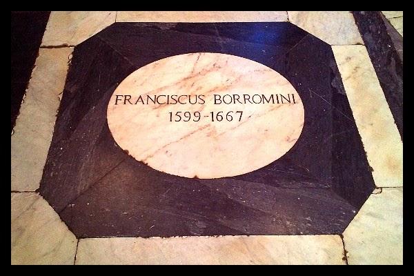 Grób Borrominiego w Rzymie