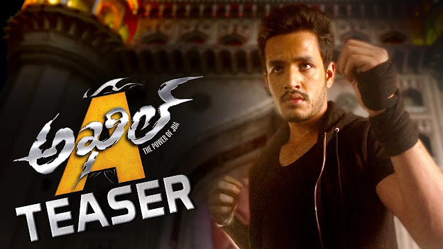 Akhil Movie First Look Teaser |  Akhil Akkineni | Sayyeshaa